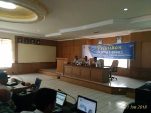 Diskominfo Gelar Pelatihan Aplikasi E-Office